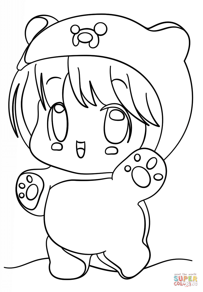 cute kawaii chibi coloring pages trends for kawaii cute chibi coloring pages sugar and spice pages kawaii cute chibi coloring