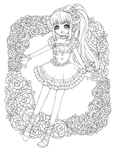 cute kawaii princess coloring pages cute chibi princess coloring pages chibi coloring pages cute pages princess kawaii coloring