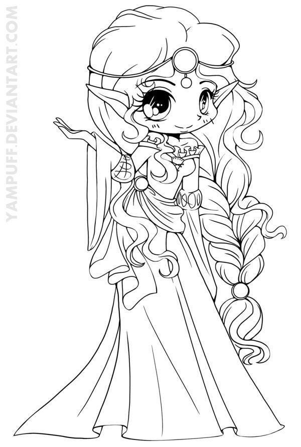 cute kawaii princess coloring pages cute kawaii princess coloring pages cute princess pages kawaii coloring