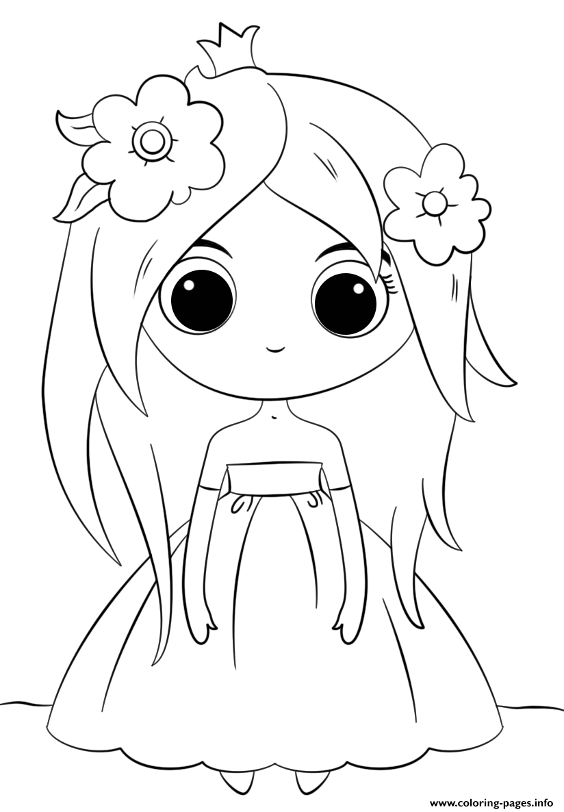 cute kawaii princess coloring pages cute little princess kawaii coloring pages printable cute princess kawaii pages coloring