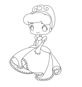 cute kawaii princess coloring pages fanart free chibi colouring pages yampuff39s stuff pages princess cute coloring kawaii