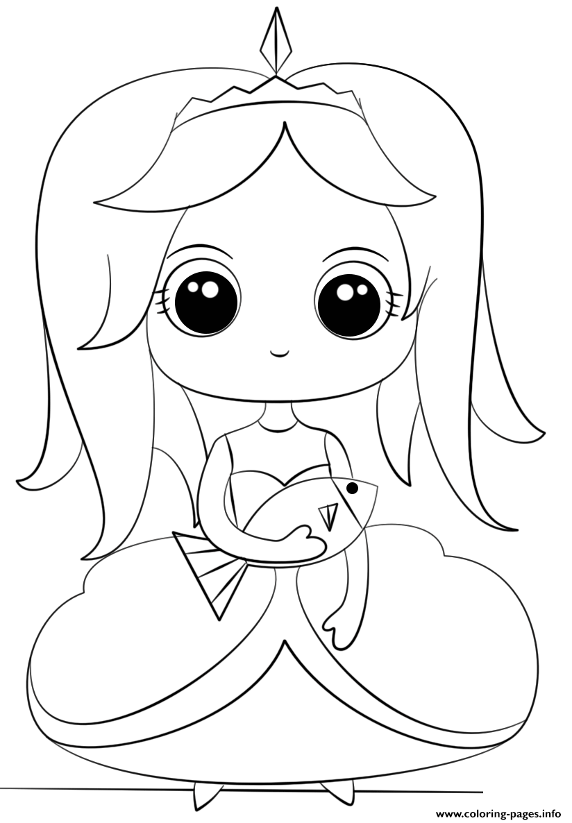 cute kawaii princess coloring pages online kawaii cute little princess coloring page cute coloring pages princess kawaii