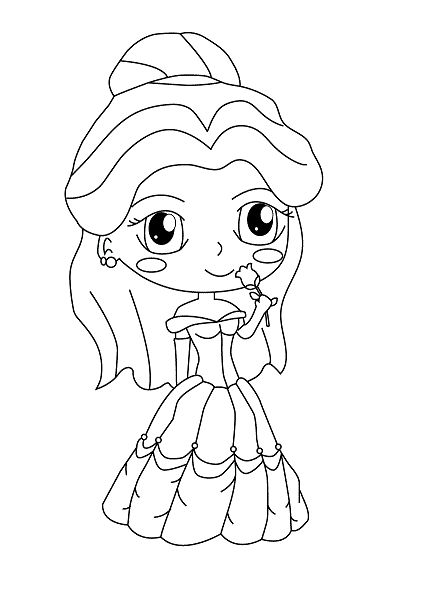 cute kawaii princess coloring pages photo princess world 35jpg princess coloring pages coloring princess kawaii cute pages