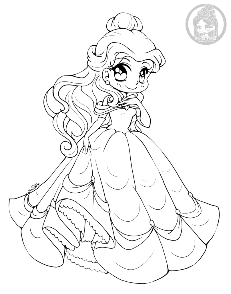 cute kawaii princess coloring pages pin by ommy ja on shoujo coloring coloring pages for coloring pages princess kawaii cute