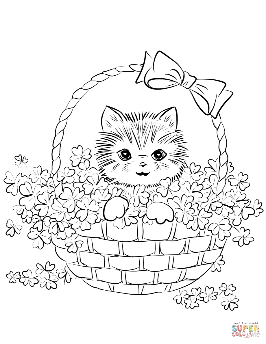 cute kitten colouring pages kitten coloring pages free download on clipartmag pages colouring cute kitten