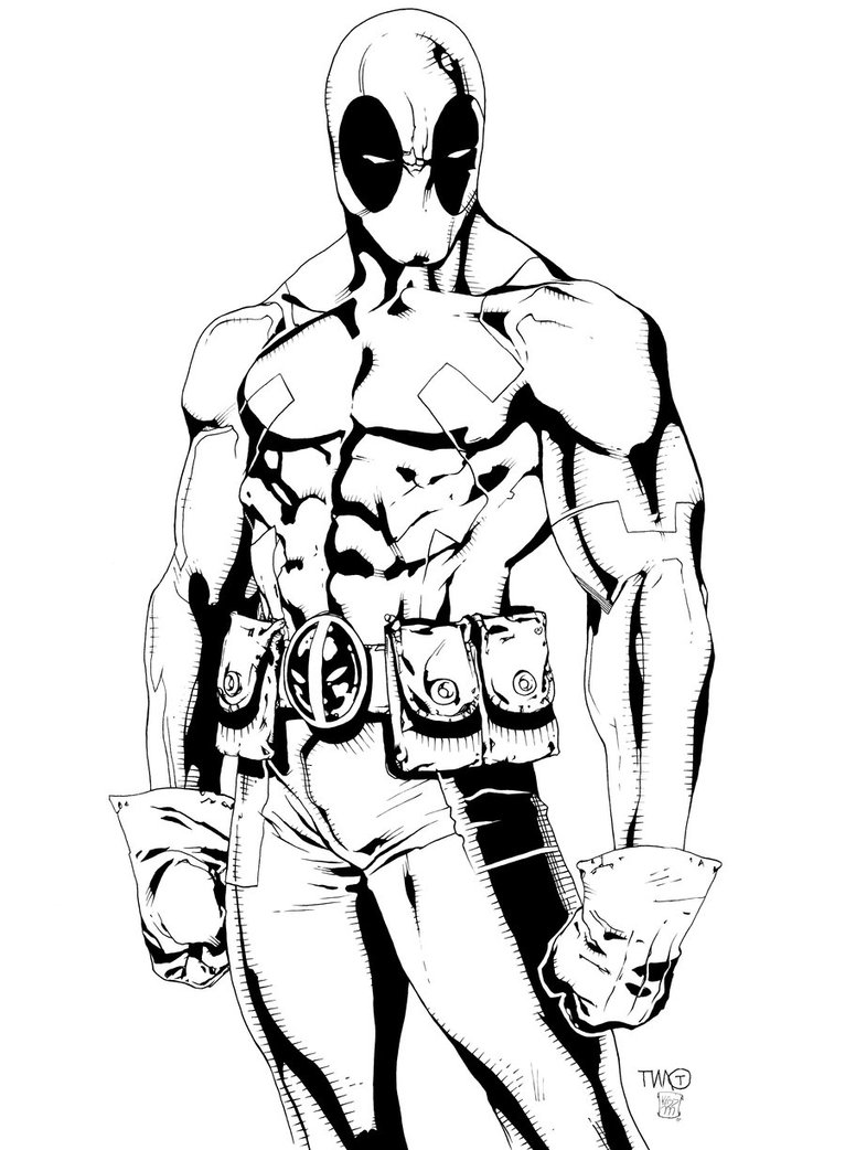 deadpool coloring deadpool coloring page coloring home coloring deadpool