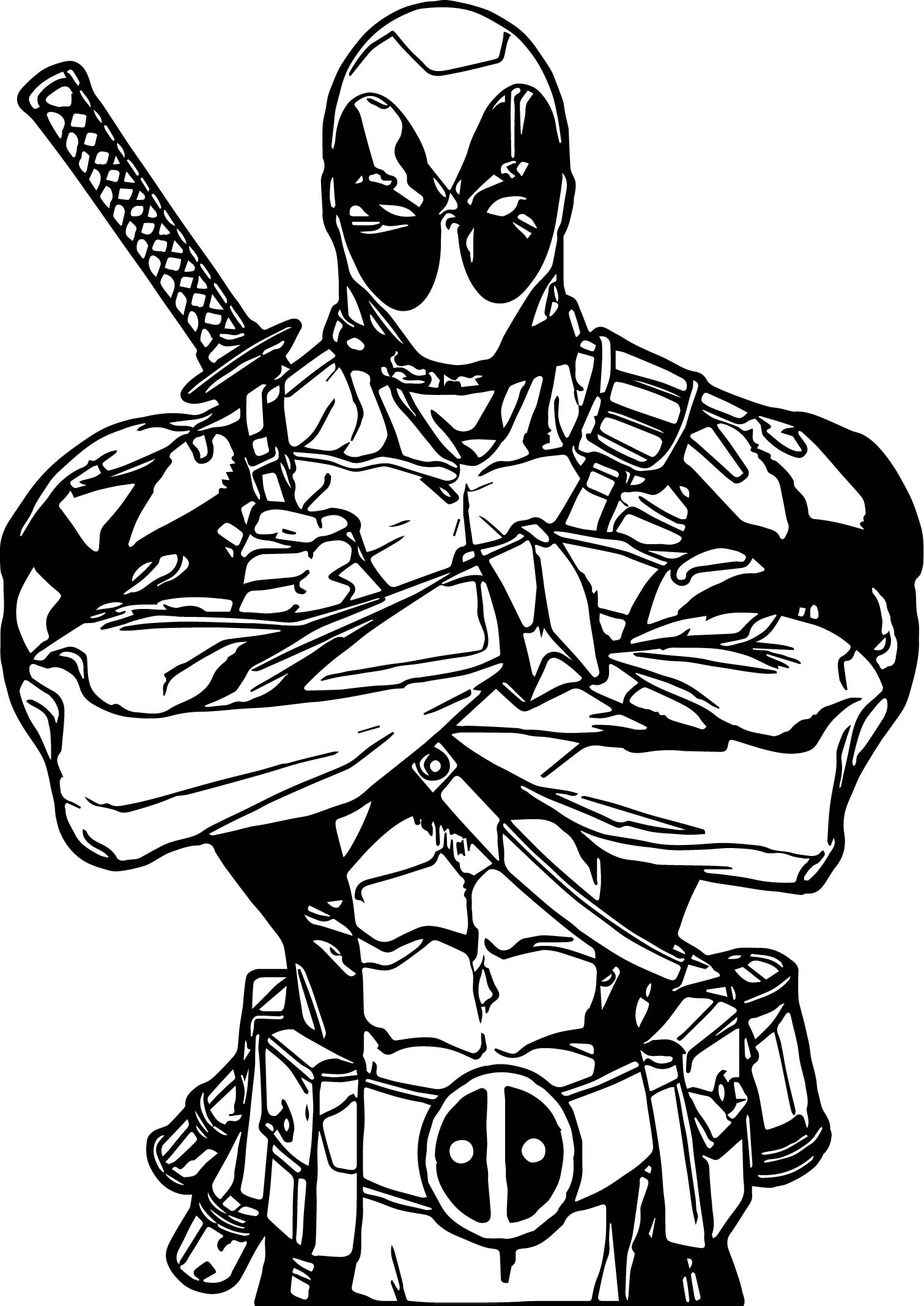 deadpool coloring deadpool deadpool kids coloring pages deadpool coloring
