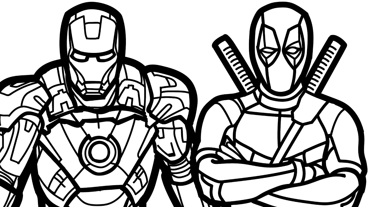 deadpool coloring free printable deadpool coloring pages for kids coloring deadpool 1 1