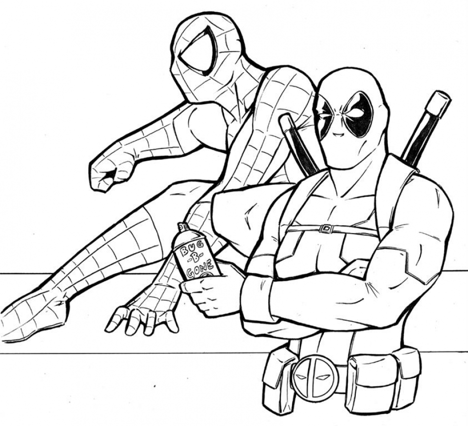 deadpool coloring get this printable deadpool coloring pages 808698 coloring deadpool
