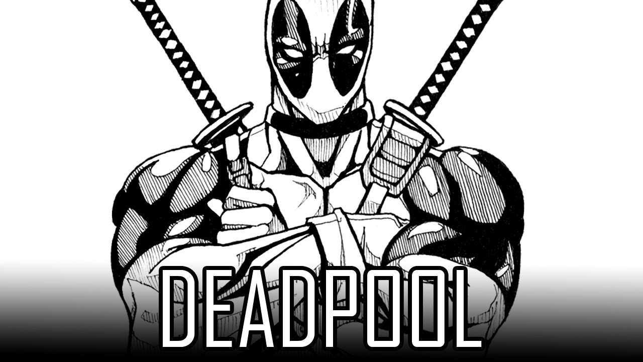 deadpool sketch deadpool by soulstryder210 desenhos deadpool desenhos deadpool sketch