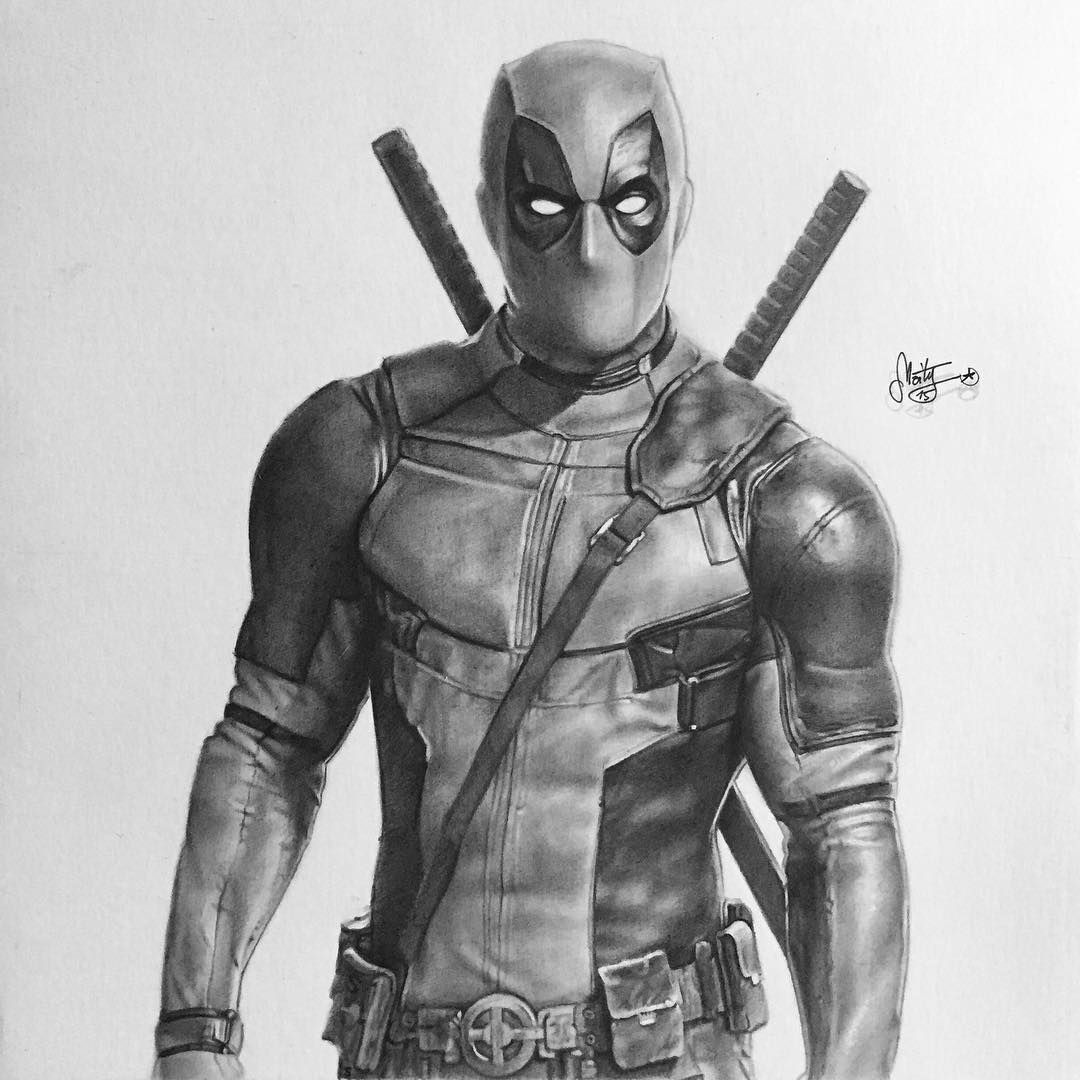 deadpool sketch deadpool drawing drawing superheroes comic books art deadpool sketch