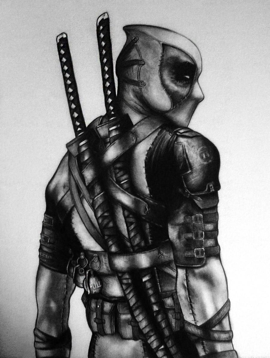deadpool sketch deadpool pencil drawing by realisticartt on deviantart sketch deadpool