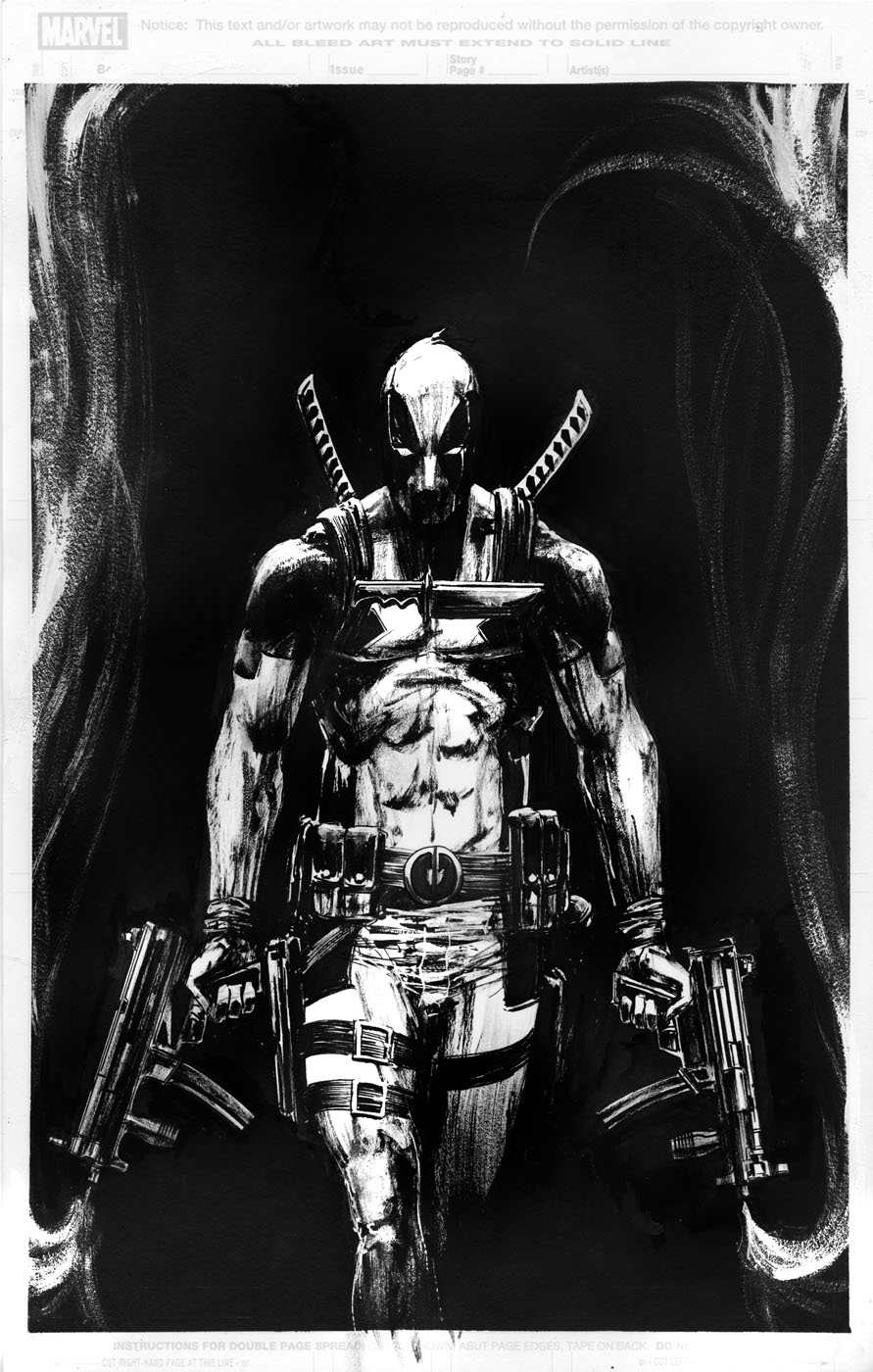 deadpool sketch deadpool sketch by livio ramondelli deadpool sketch