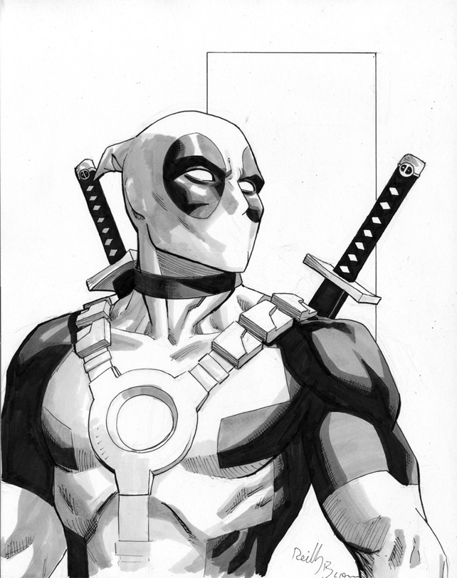 deadpool sketch deadpool sketch deadpool sketch