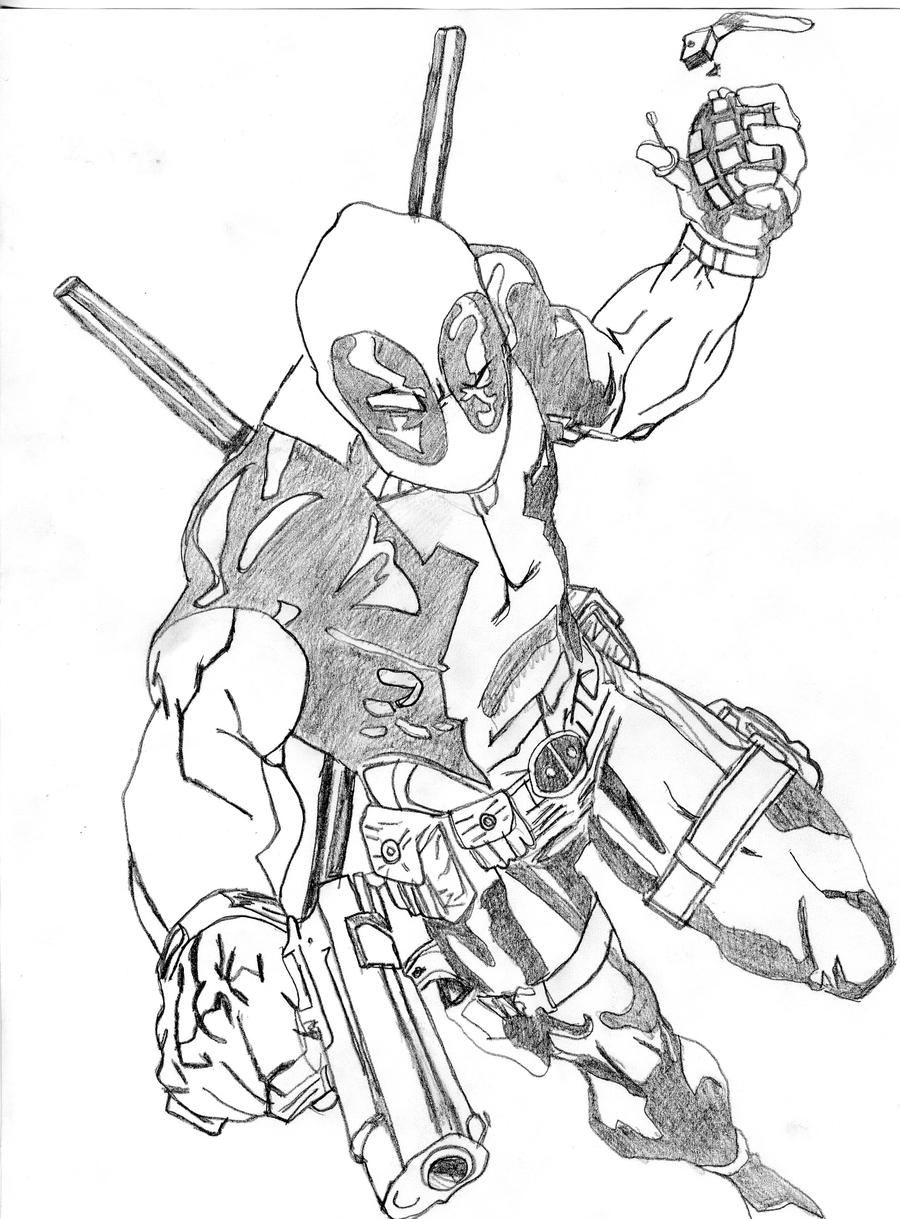 deadpool sketch nycc deadpool sketch 2 by robertatkins on deviantart deadpool sketch