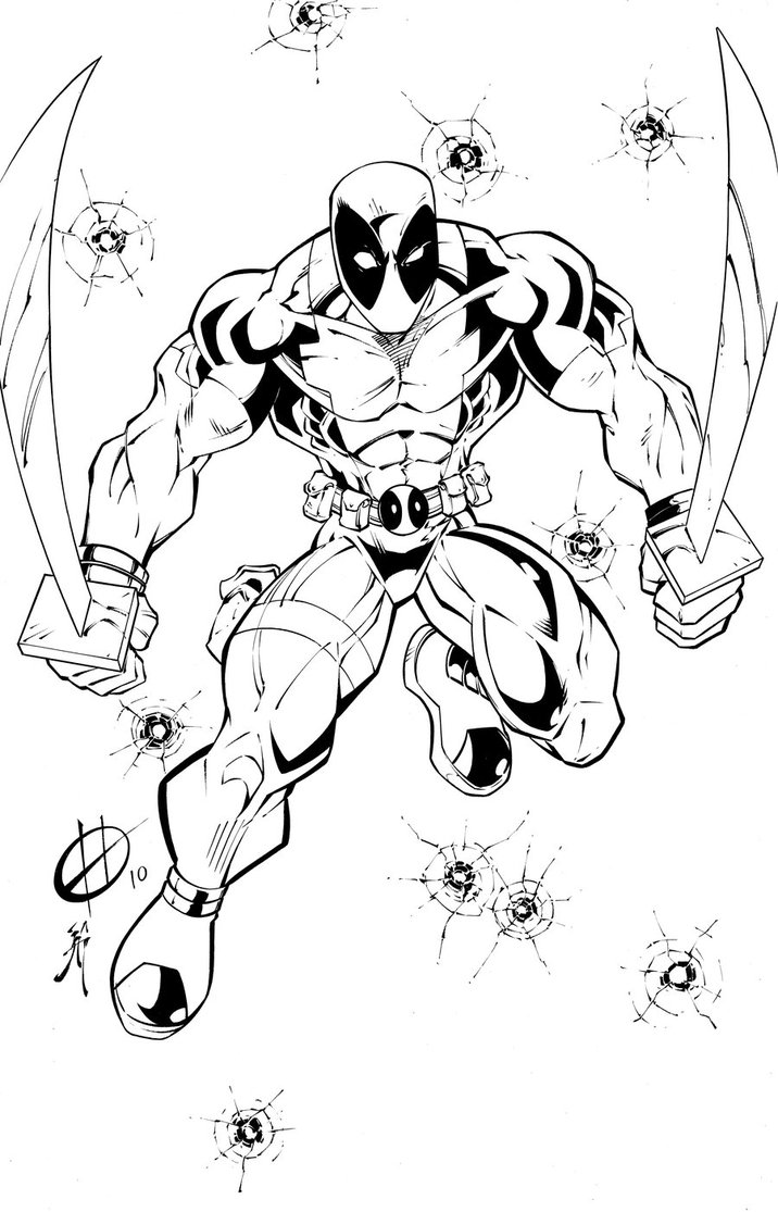 deadpool to color free printable deadpool coloring pages for kids color to deadpool