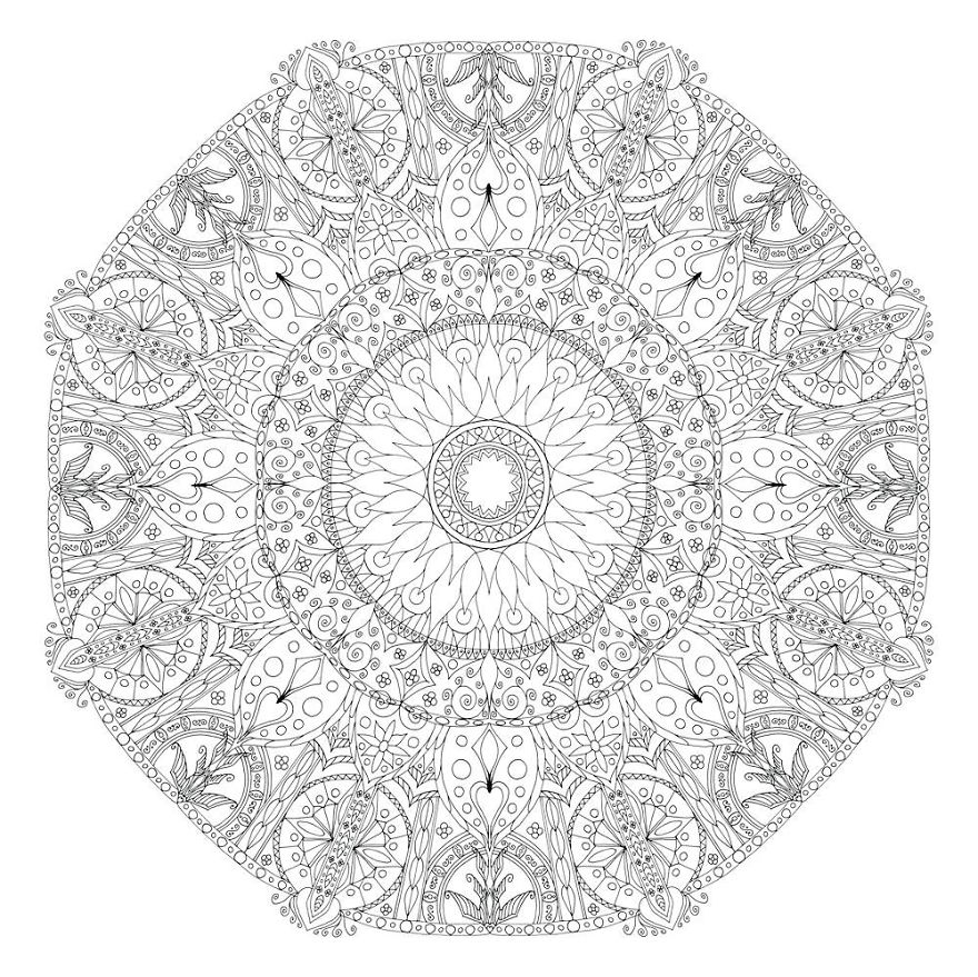 detailed mandala coloring pages intricate black mandala mandalas adult coloring pages pages coloring detailed mandala