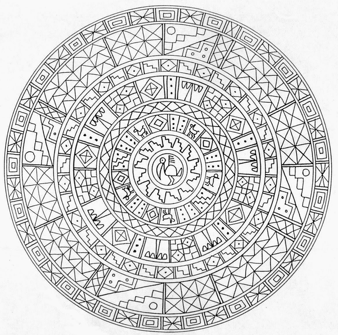detailed mandala coloring pages opal palace mandala coloring page favecraftscom coloring mandala detailed pages