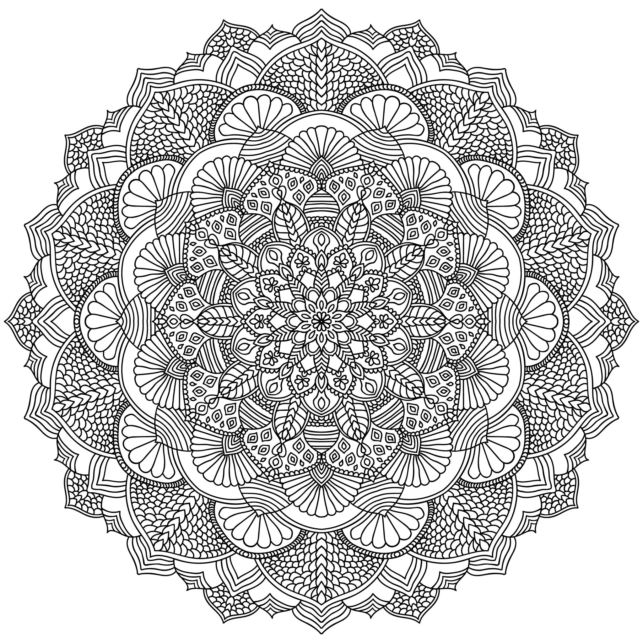 detailed mandala coloring pages simple mandala coloring pages download and print for free pages detailed coloring mandala