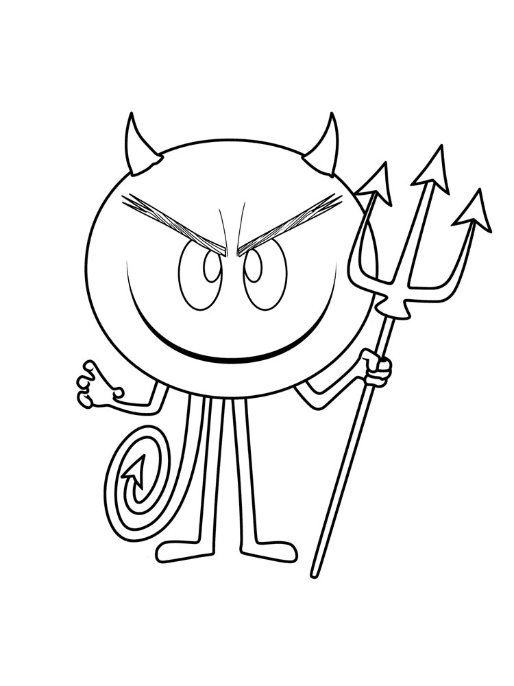 devil coloring pages devil cartoon drawing at getdrawings free download devil pages coloring