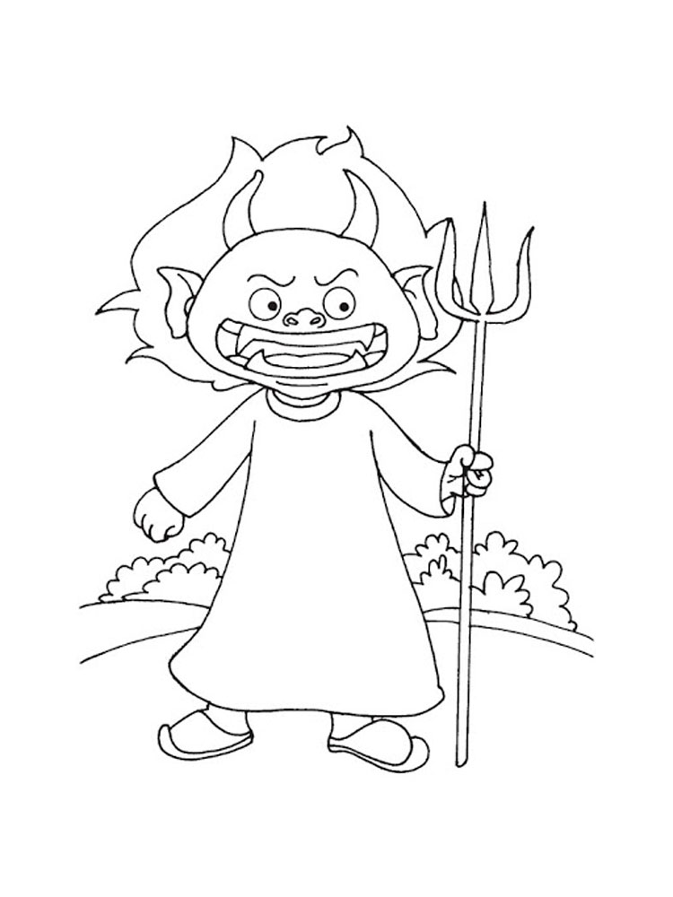 devil coloring pages how to draw a devil face step by step concept art pages coloring devil