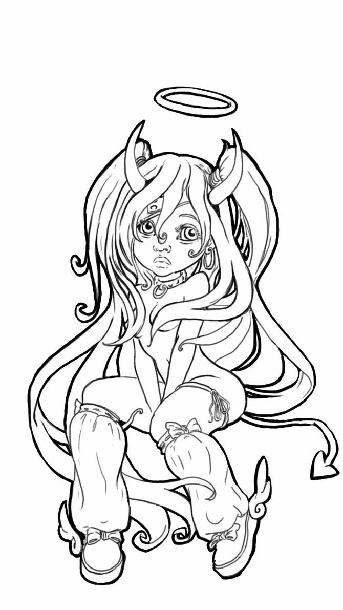 devil coloring pages pin by felix chavez on girls in 2020 coloring pages coloring pages devil