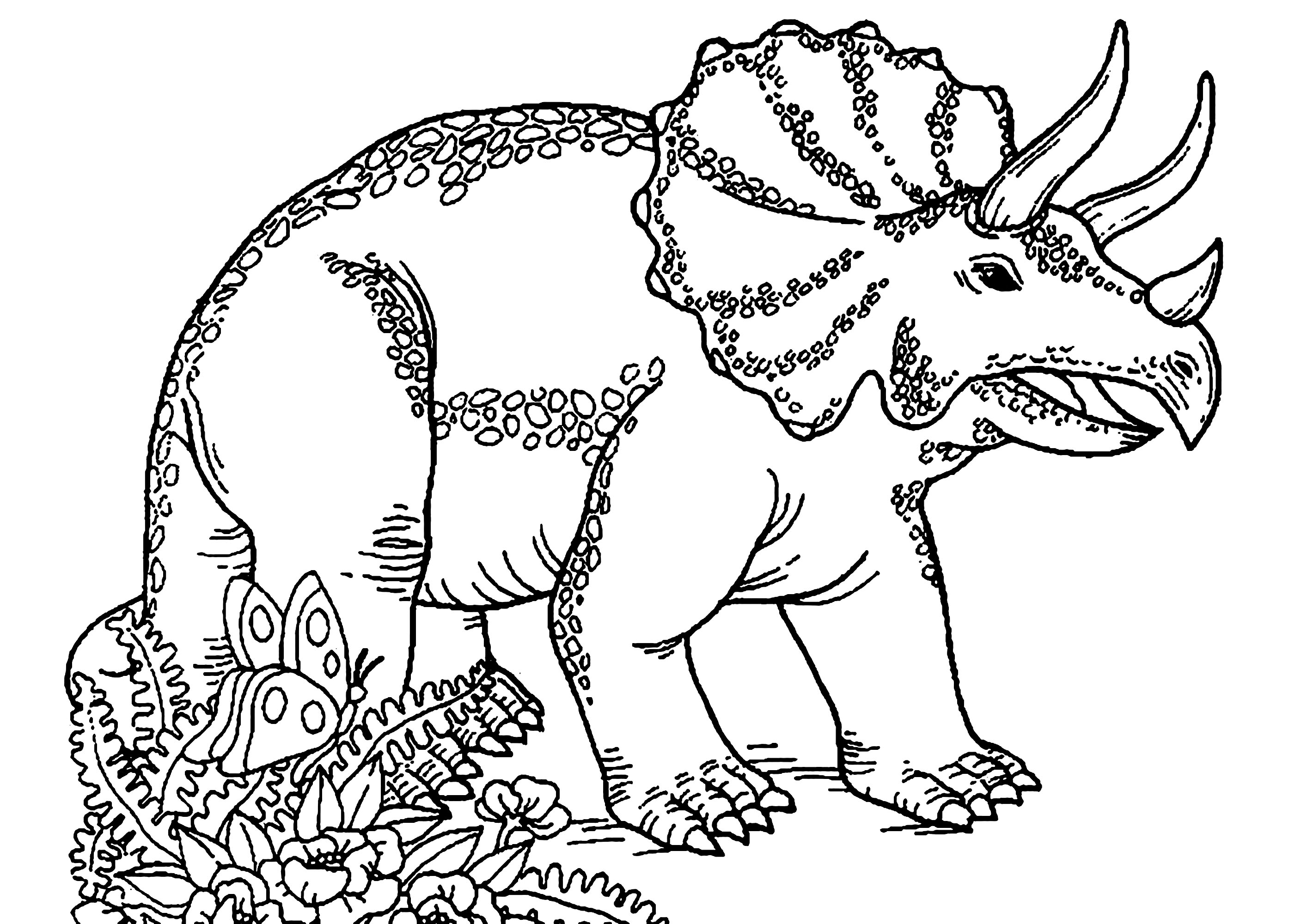 dinosaur pictures for kids dinosaurs to print triceratops dinosaurs kids coloring pictures for dinosaur kids