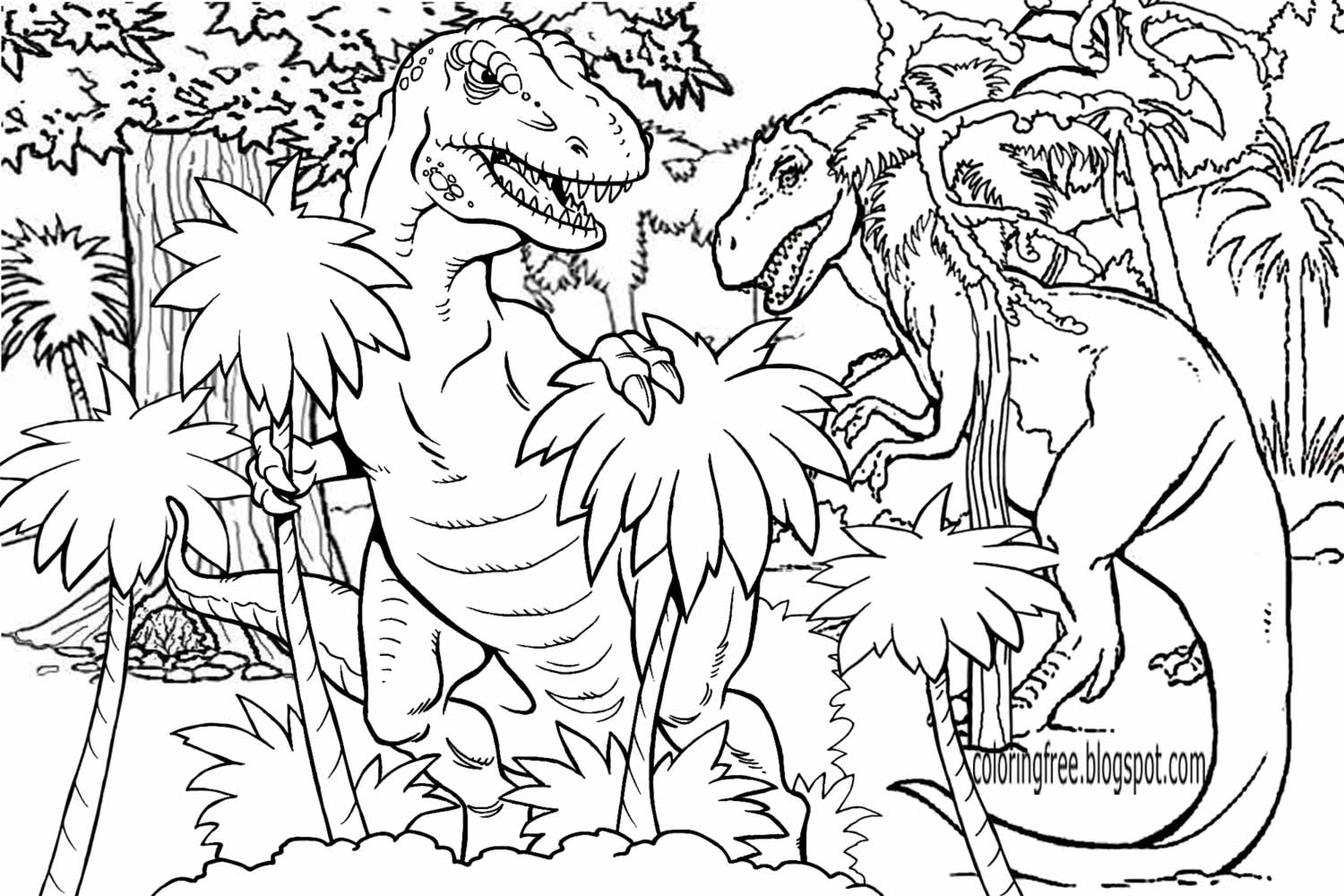 dinosaurs coloring pages printable dinosaur 6 coloringcolorcom dinosaurs coloring pages printable