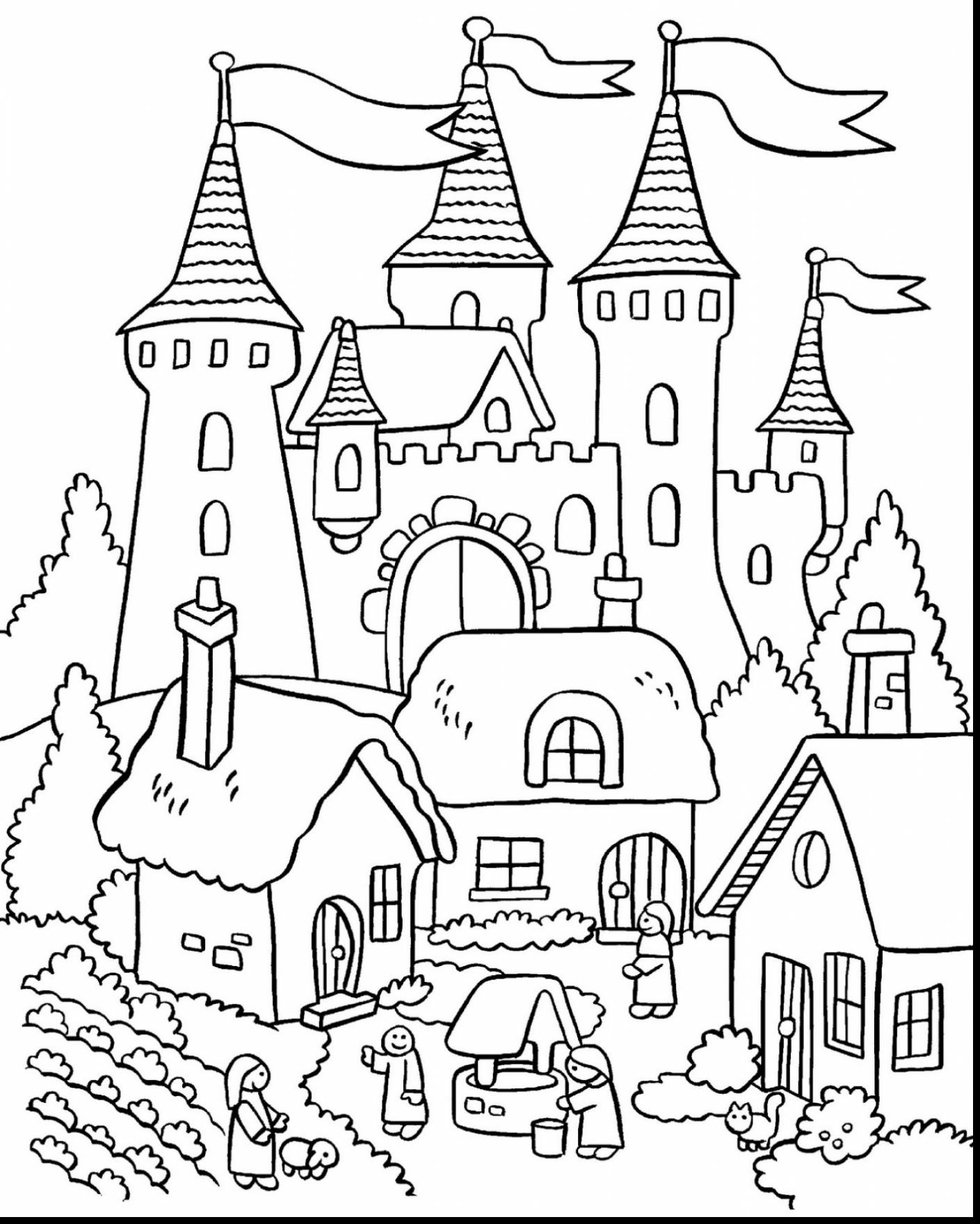 disney castle coloring page coloring pages of disney castle at getcoloringscom free disney coloring castle page
