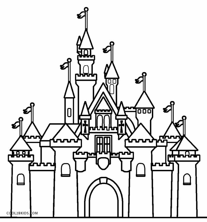 disney castle coloring page disney castle coloring pages printable coloring home coloring disney castle page