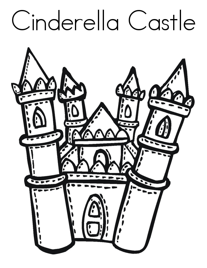 disney castle coloring page disneyland castle coloring page coloring home page castle coloring disney