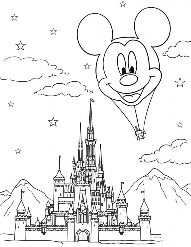 disney castle coloring page printable castle coloring pages for kids cool2bkids castle coloring page disney