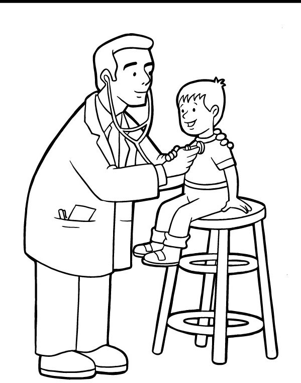 doctor for coloring 28 free printable doctor coloring pages for kids ages coloring doctor for