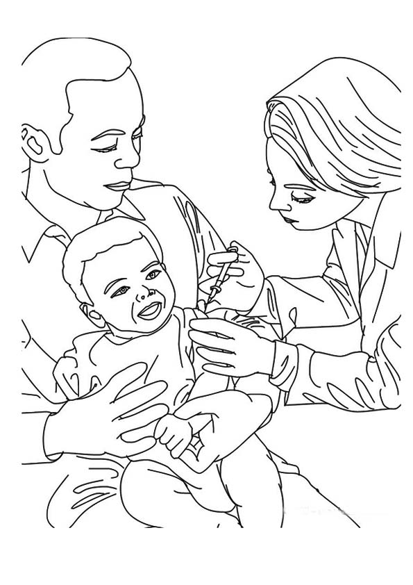 doctor for coloring doctor coloring pages for kids coloring home coloring doctor for