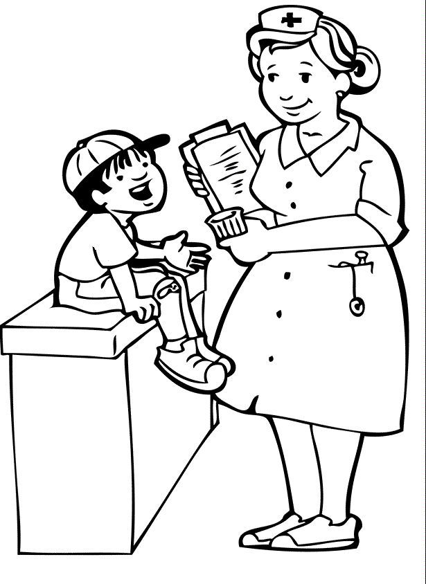 doctor for coloring doctor coloring pages for kids coloring home coloring for doctor