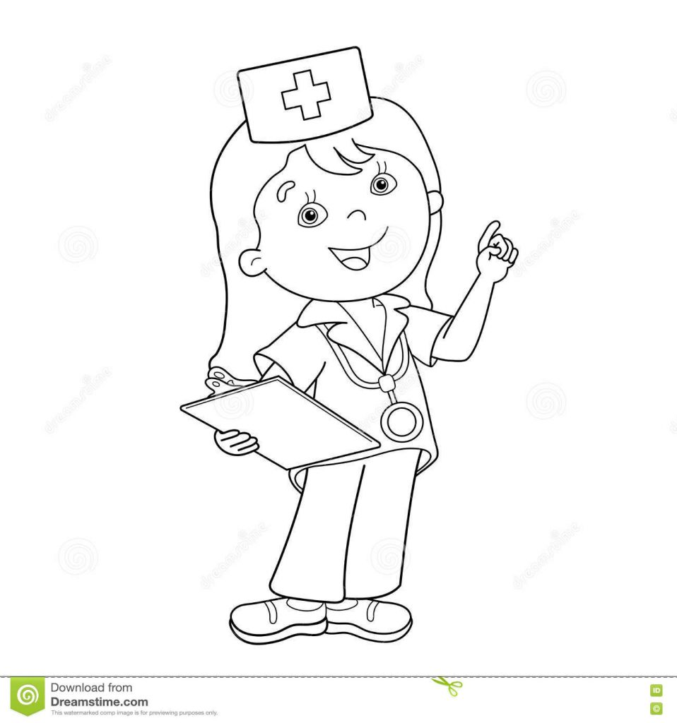 doctor for coloring pictures of doctors for kids coloring home coloring doctor for