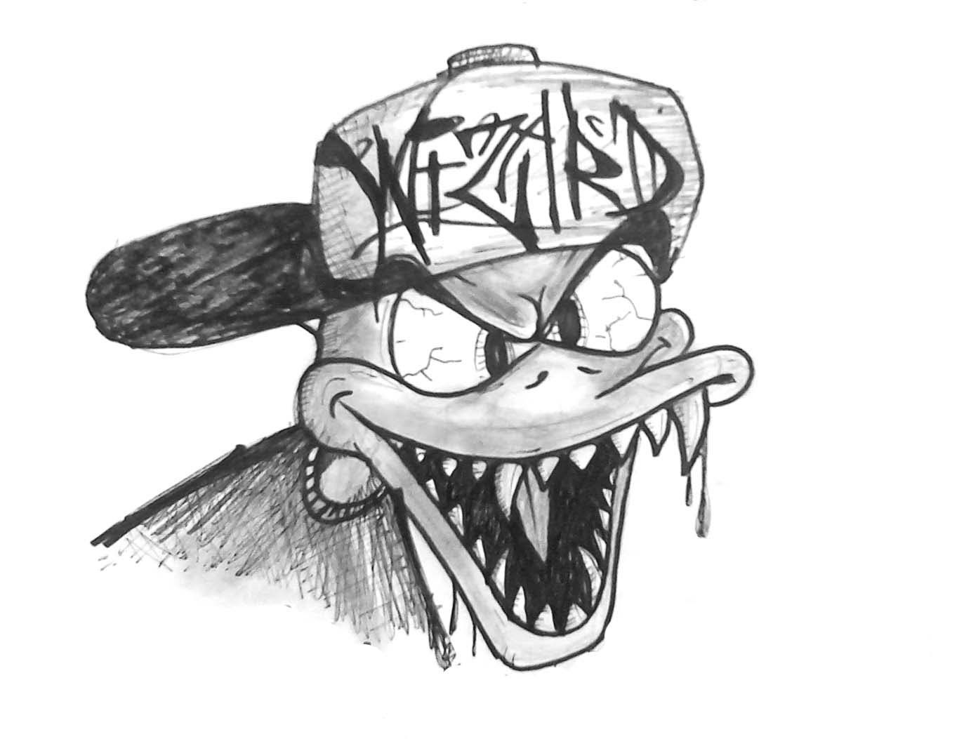 donald duck sketch speed drawing drawing a evil duck donald duck duck donald sketch