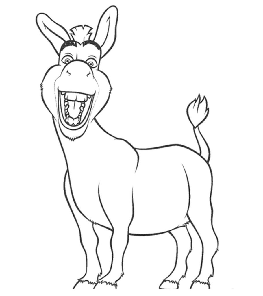 donkey colouring pages top 10 free printable donkey coloring pages online pages donkey colouring