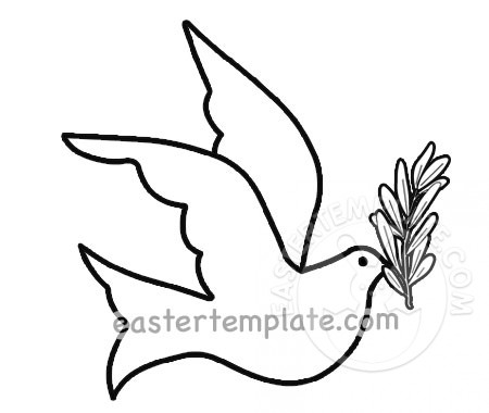 dove holding olive branch flying dove holding olive branch easter template holding branch dove olive