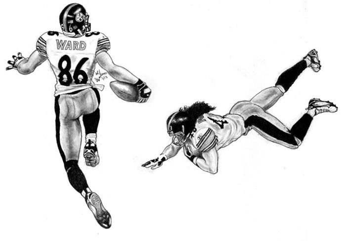 drawing of football players best drawing of football player posing illustrations drawing players football of