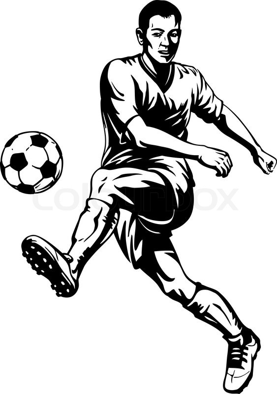 drawing of football players football player line drawing at getdrawings free download football of drawing players