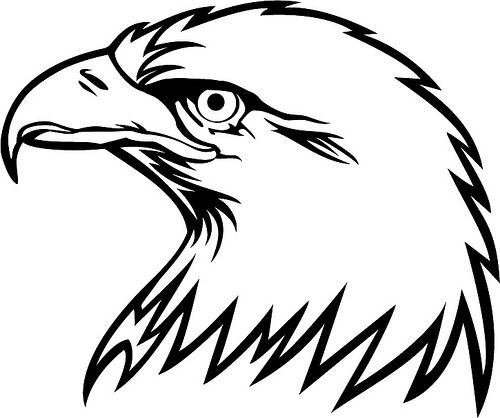 eagle head silhouette eagle head silhouette at getdrawings free download eagle silhouette head