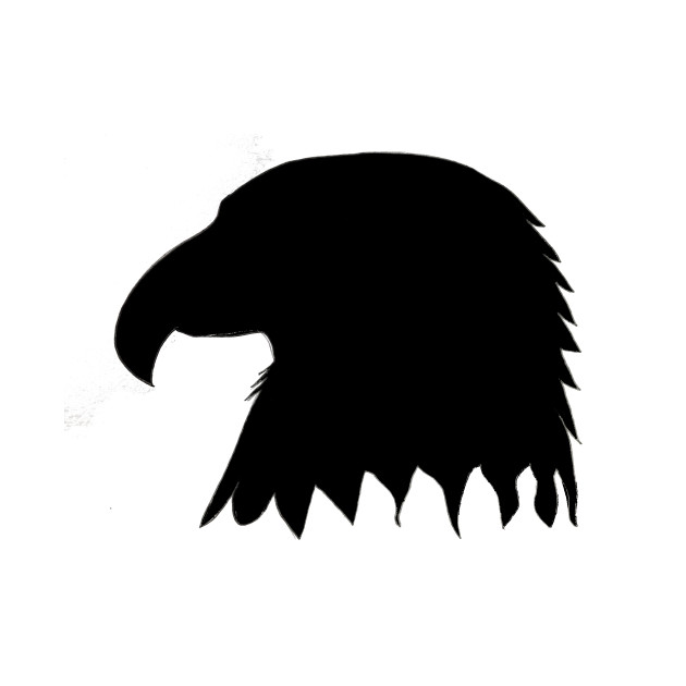 eagle head silhouette eagle head silhouette neo coloring eagle head silhouette