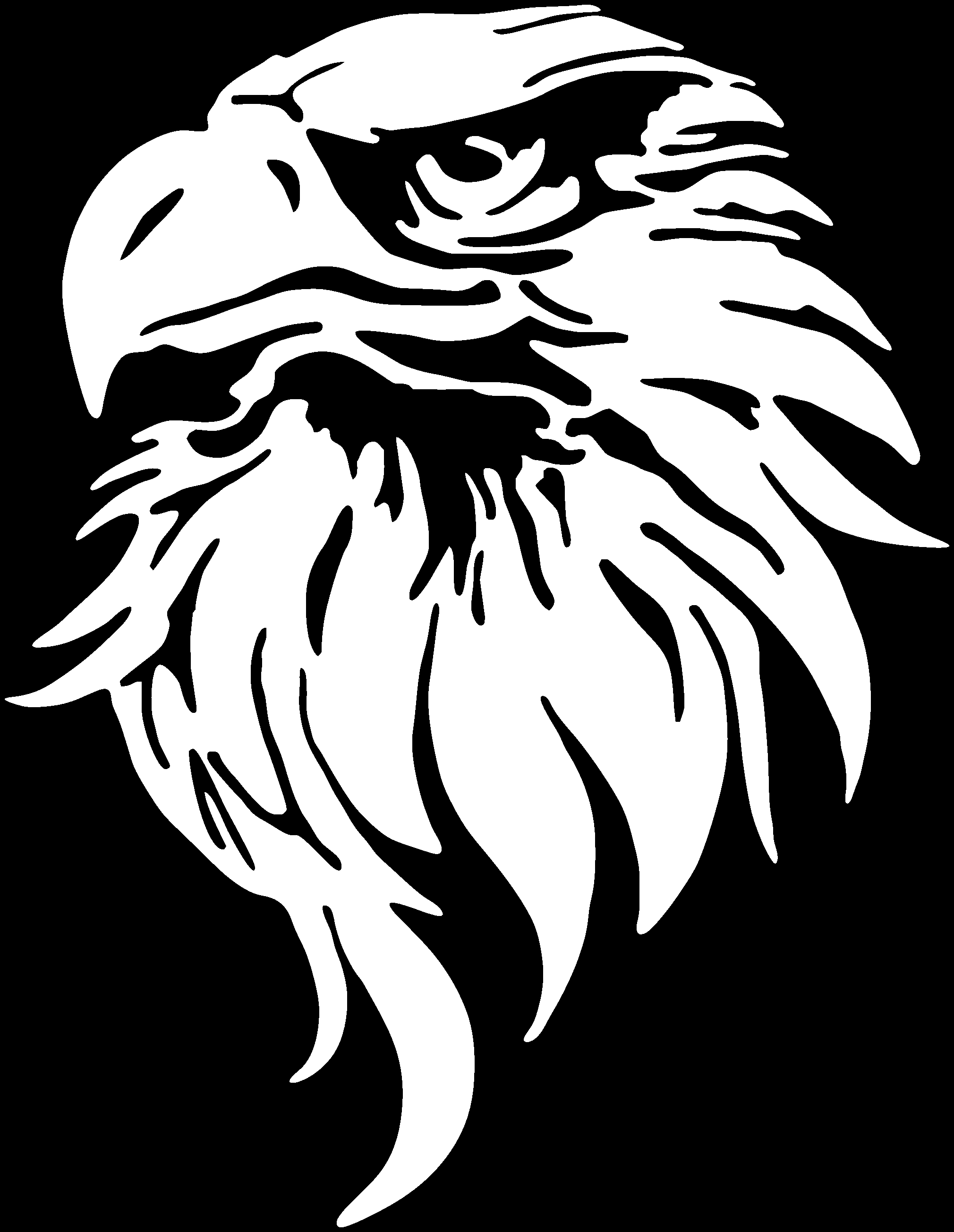 eagle head silhouette free 8 eagle silhouettes in vector eps ai eagle silhouette head
