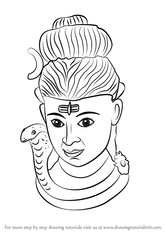 easy drawing of lord shiva coloring lord pages shiva 2020 god art hindu art shiva lord drawing easy of