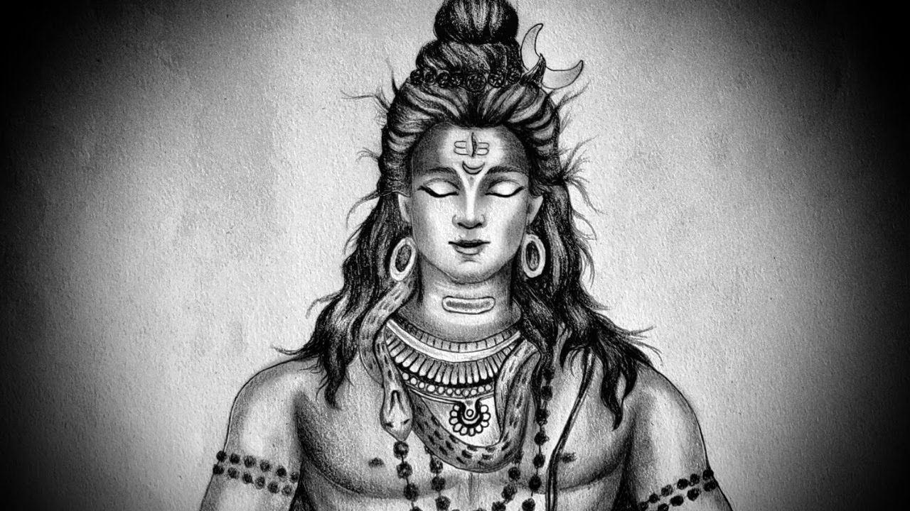 easy drawing of lord shiva easy drawing of lord shiva shiva drawing easy of lord