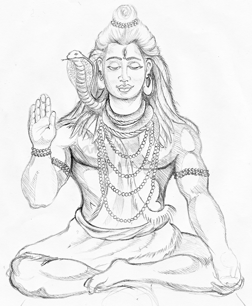 easy drawing of lord shiva shiva by loveras on deviantart easy drawing shiva of lord