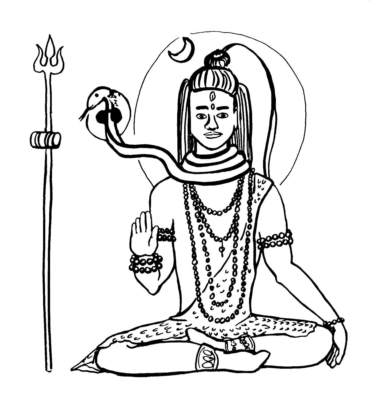 easy drawing of lord shiva shiva drawing at getdrawings free download of easy lord drawing shiva
