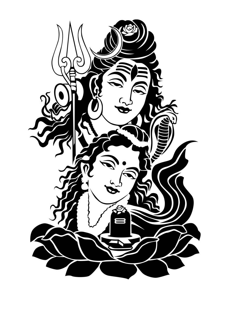 easy drawing of lord shiva shiva drawing at paintingvalleycom explore collection drawing easy shiva of lord