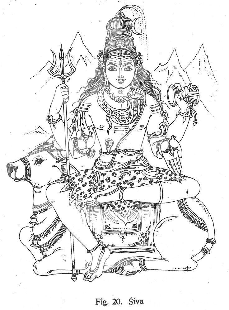 easy drawing of lord shiva shiva line drawing at paintingvalleycom explore easy lord drawing shiva of
